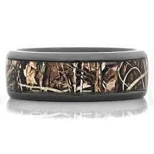 camo mens wedding bands men s black camo wedding ring titanium buzz