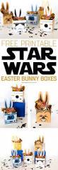 star wars easter bunny boxes printable crush
