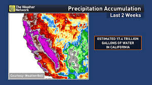 california drought map january 2016 news 2017 pacific storms take a big bite out california s