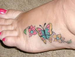 tattoo tattooz foot tattoos designs for girls