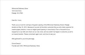 sample business thank you letter u2013 12 free word excel pdf