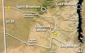 Lake Mead Map Sacred Places Lake Mead National Recreation Area U S National