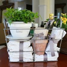 kitchen basket ideas diy housewarming gift make a pretty and practical gift basket