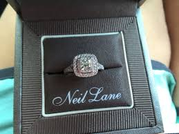 glamorous neil lane rings at kays jewelers neil lane double halo 2ct tw diamond 14k white gold princess cut