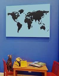vinyl wall art decal sticker world map 131