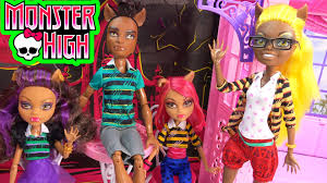 Monster High Halloween Wolf Doll by Monster High Pack Of Trouble Clawdeen Howleen Clawd Clawdia Wolf