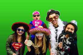 green screen photo booth photo booths level