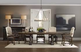 trestle dining room tables hooker furniture dining room treviso trestle dining table with two