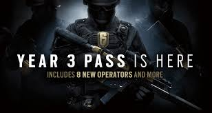 ubisoft announces rainbow 6 seige year 3 pass dageeks com