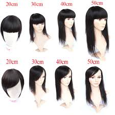 clip in fringe new arrival 8inch 20inch real malaysian hair clip