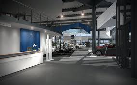mercedes showroom exterior showroom interior concept for mercedes benz belgium on behance