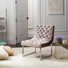 Tufted Accent Chair Safavieh Hadley Tufted Accent Chair 8445945 Hsn