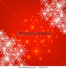 Christmas And New Year Christmas Decorations Snowflakes Vector by Red Abstract Christmas Background White Snowflakes Stock Vector