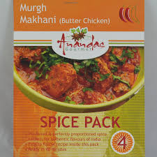 cuisine curry butter chicken curry spice pack traditional indian cuisine