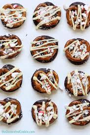 homemade williams sonoma peppermint bark pretzels