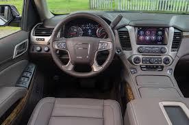gmc yukon interior 2016 2015 gmc yukon quick take review