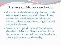 cuisine characteristics moroccan food tradion and culturl