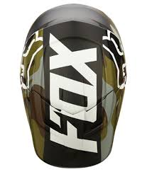 fox helmets motocross fox racing green v1 camo motocross bike helmet buy fox racing