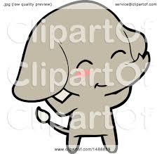 cute cartoon elephant by lineartestpilot 1488859