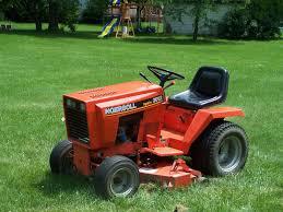ingersoll garden tractor the gardens