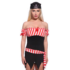 men women ladies full pirate captain halloween fancy dress