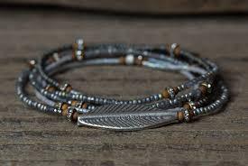 leaf wrap bracelet images Leaf bracelet leaf charm bracelet tribal bracelet wrap jpg