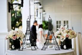 Paris Centerpieces Parisian Wedding Madera Estates Blog