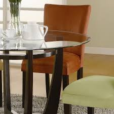 coaster dining room sets coaster bloomfield round dining collection 101490 din set at
