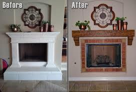 diy fireplace mantel binhminh decoration