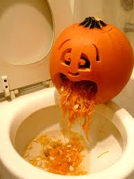 puking pumpkin 7 steps with pictures