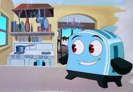 The Brave Toaster The Brave Little Toaster Cel And Background Painting In C E U0027s