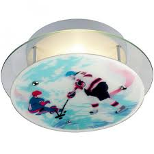Sports Ceiling Light Hockey Sports Ceiling Light By Firefly Lighting Design Ideas