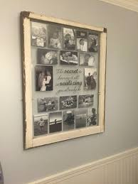 Picture Frame Wall by Turn Reclaimed Old Picture Frame Into Photo Art Wall Gallery