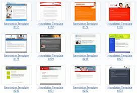 newsletter templates word