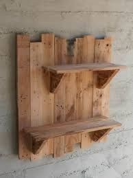 How To Make Wooden Shelving Units by The 25 Best Pallet Shelves Ideas On Pinterest