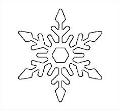 templates for snowflakes snowflake templates snowflake templates easy snowflakes template to