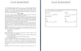 creative business loan broker agreement letter template sample