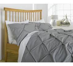 Bedding Sets Uk Buy Of House Hadley Grey Pintuck Bedding Set Kingsize At
