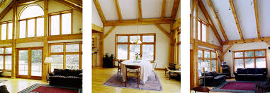 timber frame home interiors swanzey post beam timber frame home