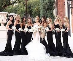 black and white wedding bridesmaid dresses black bridesmaid dress 4110