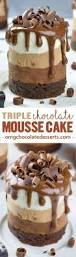 best 25 triple chocolate mousse cake ideas on pinterest