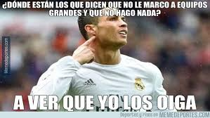 Memes De La Chions League - when real madrid are losing bayern miss a penalty marca english