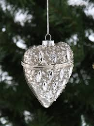 deluxe trinket glass opening bauble tree decoration
