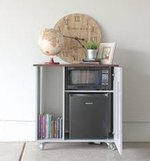 how to build a cabinet around a refrigerator diy mini refrigerator storage cabinet free plans sawdust