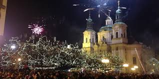trip idea celebrate new year u0027s eve in prague u0027s old town square