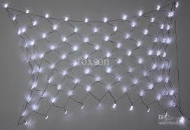 wholesale solar power led net light curtain light outdoor