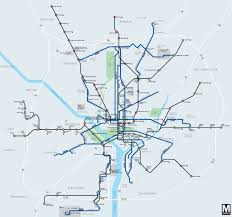 Dc Metro Blue Line Map by Keep Metroextra Bus Lines Straight With This Handy Map U2013 Greater