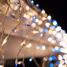 icicle light 150 clear blue icicle lights white wire
