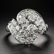 diamond cocktail rings vintage diamond cocktail ring