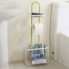 lifewit toilet roll paper holder caddy with magazine rack free